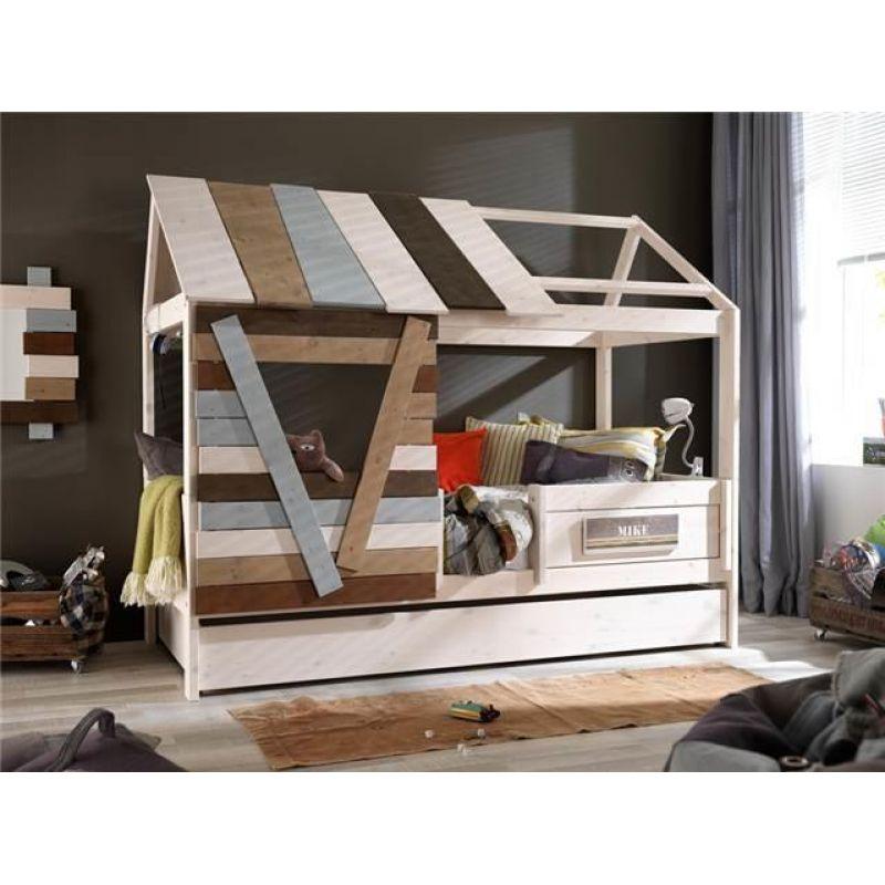 bett baumh tte vollholz. Black Bedroom Furniture Sets. Home Design Ideas