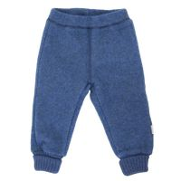 ML Wollfleece-Hose blaumeliert