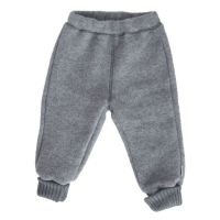 ML Wollfleece-Hose graumeliert