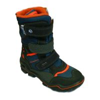 PM Winterschuhe Westy blau/orange, GoreTex