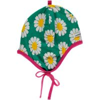 MM Babyhaube Daisy green, Bio