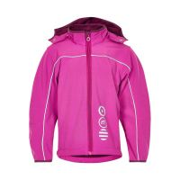 MN Softshell Funktionsjacke dark pink