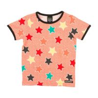 VV Kurzarm-shirt Sterne strawberry