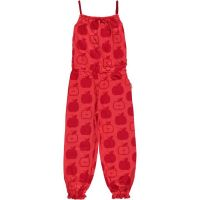 MM Jumpsuit lang Apple red, BIO