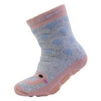 ME Anti-Rutsch-Socken ABS Bird rosa