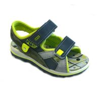 PM Sandalen navy/lime