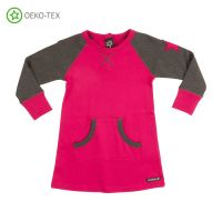 VV Kangaroo Kleid Cranberry / Anthra