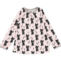 MM Langarm-Shirt A-Line black Bambi, BIO