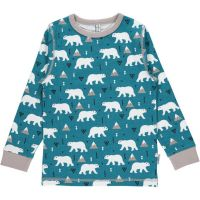 MM Langarm-Shirt polar bear, BIO