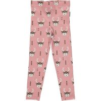 MM Leggings deer rosa, BIO