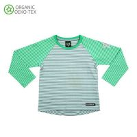 VV Langarm-shirt rock/pear gestreift 110