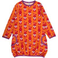 MM Ballonkleid Hase orange, BIO