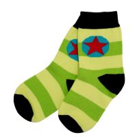 VV Socken apple/lime gestreift