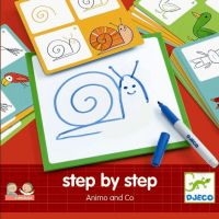 Djeco Step by Step Animals