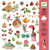 Sticker Tea party 160 St