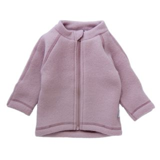 ML Wollfleece-Jacke rose