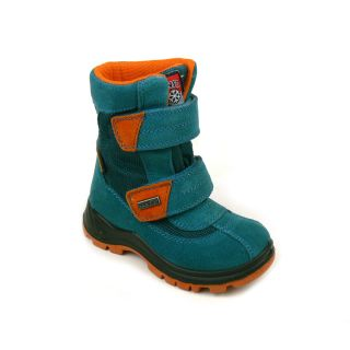 NT Winterschuhe petrol/orange