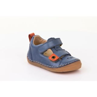 Froddo Eco - Lauflernsandalen denim/orange 28