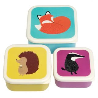 Snackbox 3-Set Fuchs
