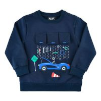 MT Sweatshirt dark blue Autowerkstatt