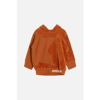 HC Kapuzenpullover aus Nicki orange  80 (15M)