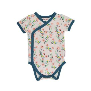 BB Wickelbody KA Bird rosa , BIO 74