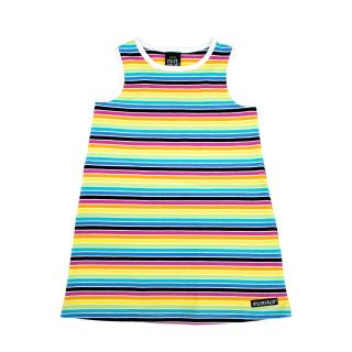 VV Sommer-Kleid gestreift/Rainbow